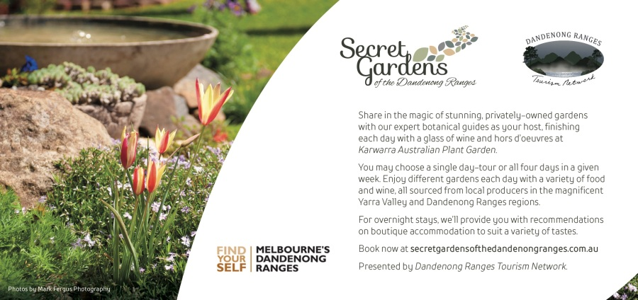 Spring 2018 Secret Gardens of the Dandenong Ranges